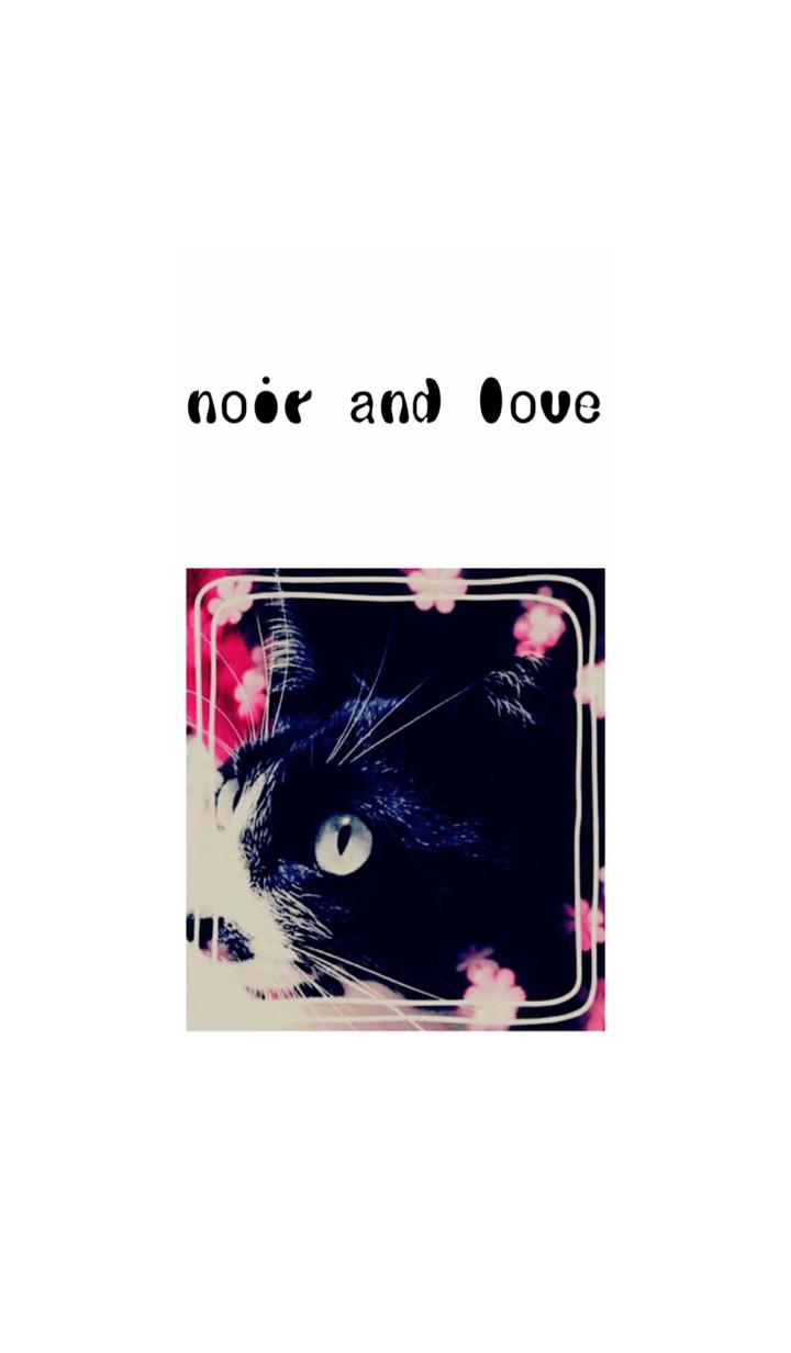 ธีมไลน์ noir and love