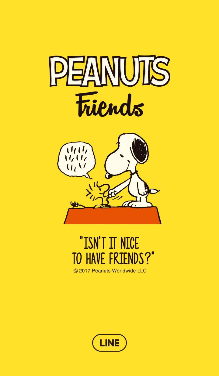 ธีมไลน์ สนูปี้ PEANUTS Friends