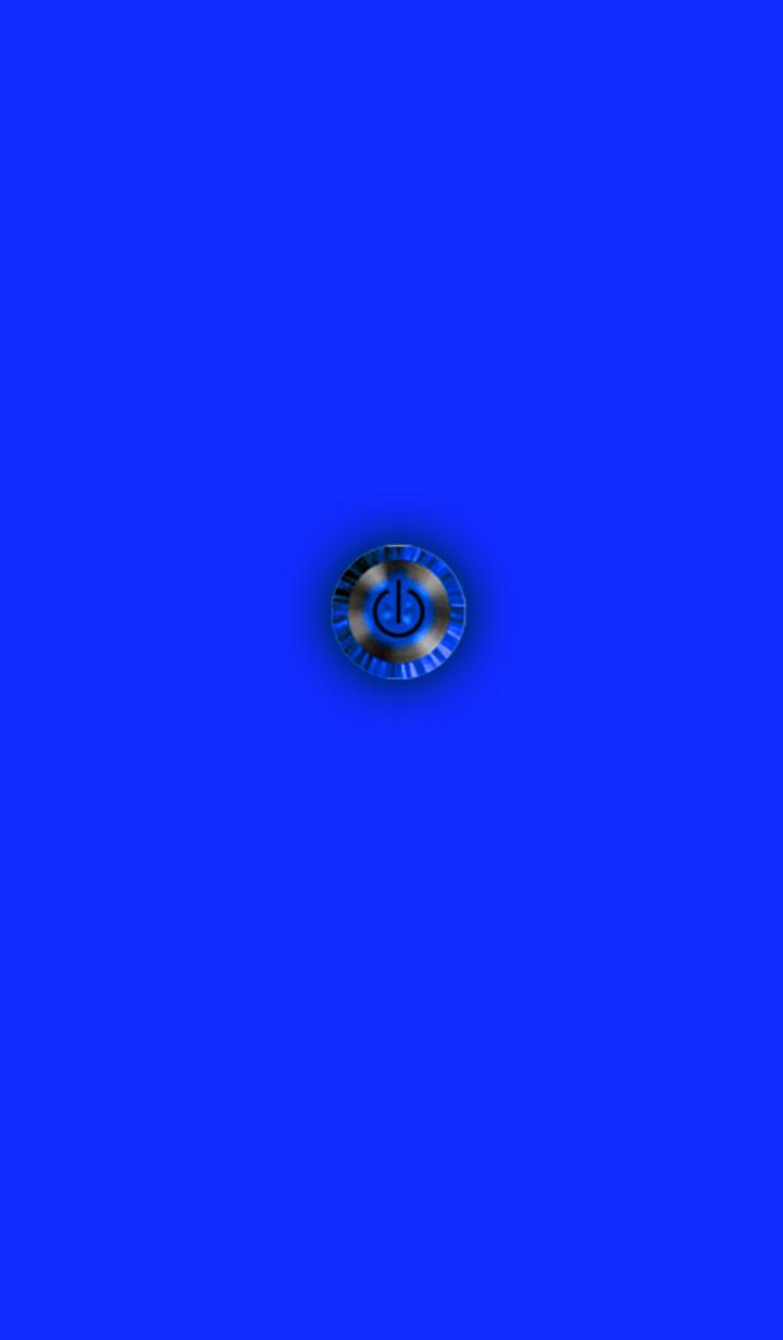 ธีมไลน์ Simple Stylish Blue Button 2