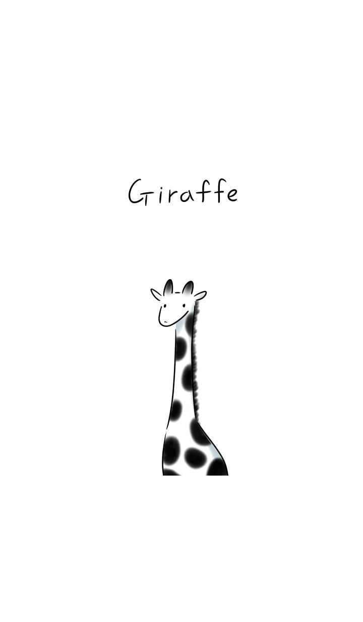 ธีมไลน์ Giraffe Theme.
