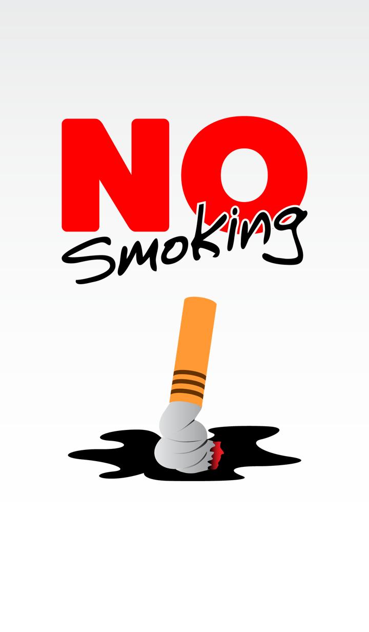 ธีมไลน์ ห้ามสูบบุหรี่