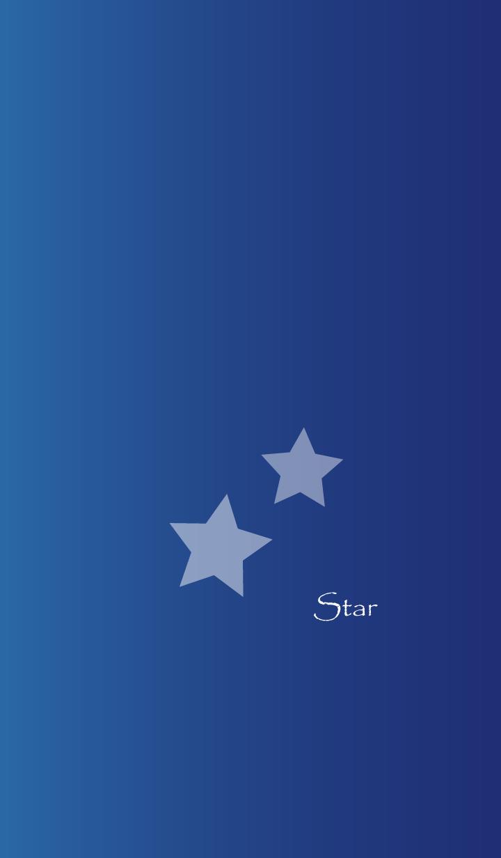 ธีมไลน์ Two stars