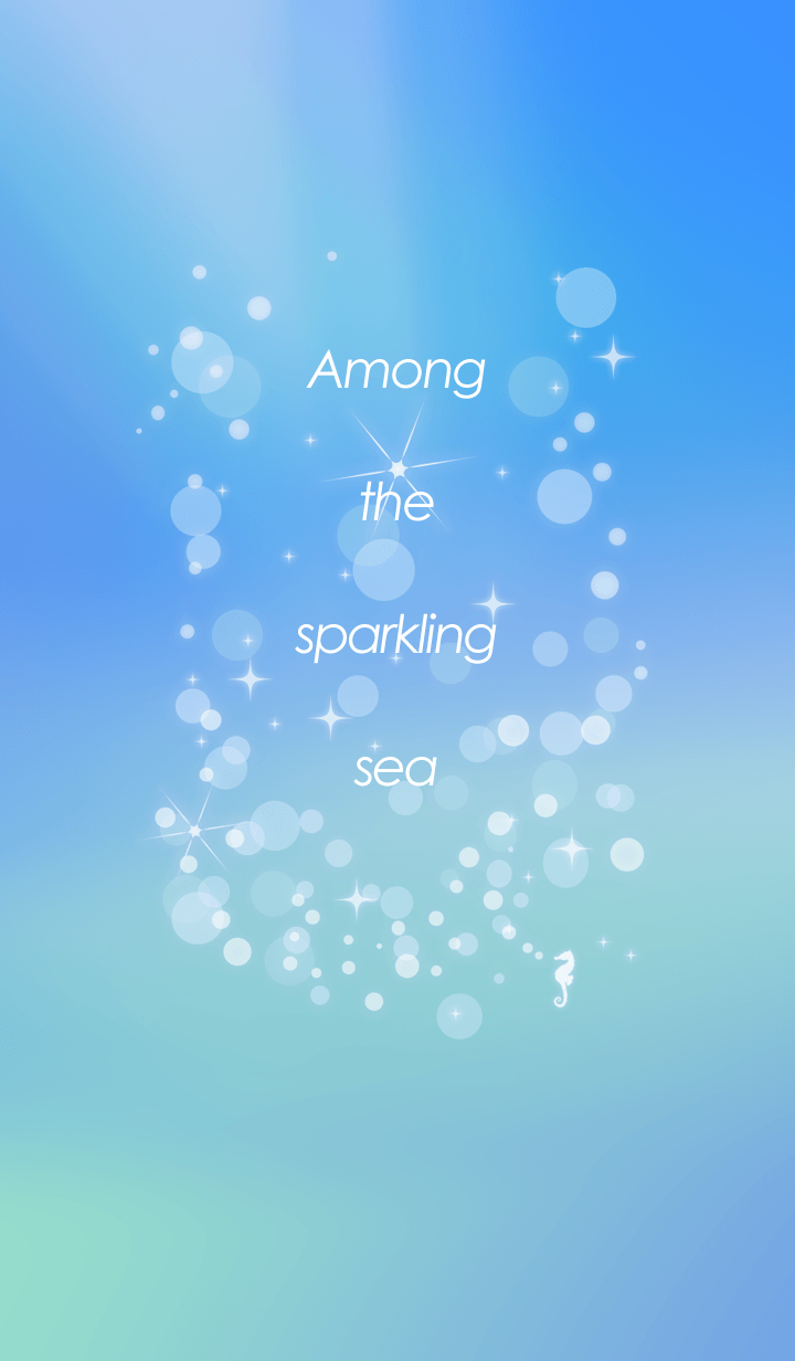 ธีมไลน์ Among the sparkling sea