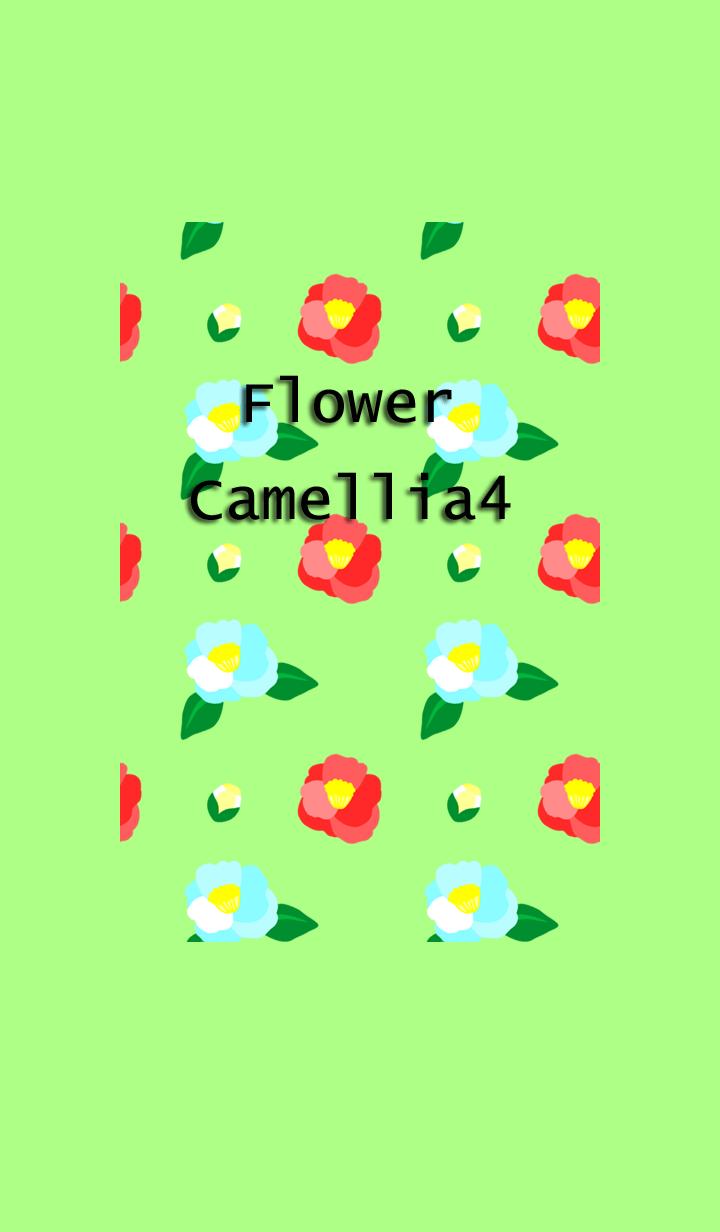 ธีมไลน์ Flower(Camellia4)