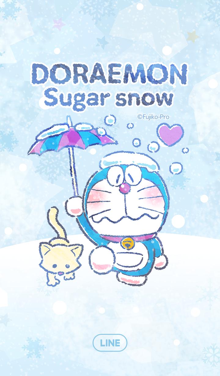 ธีมไลน์ โดราเอมอน วันหิมะตก