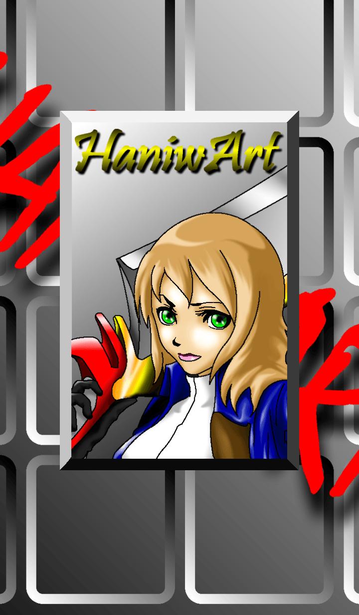 ธีมไลน์ HANIWART4