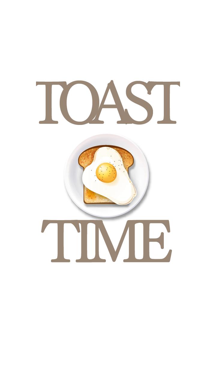 ธีมไลน์ Toast Time