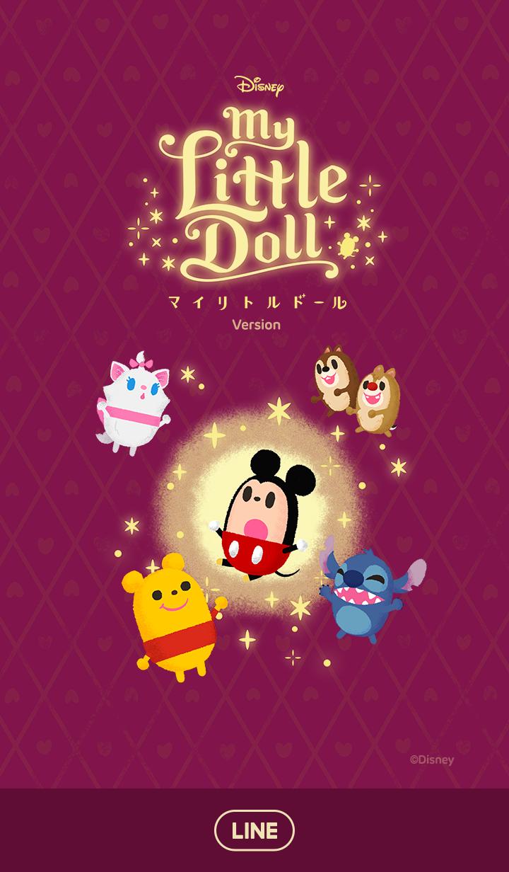 ธีมไลน์ Disney My Little Doll