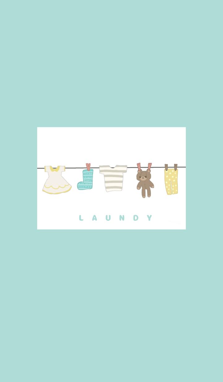 ธีมไลน์ Laundry