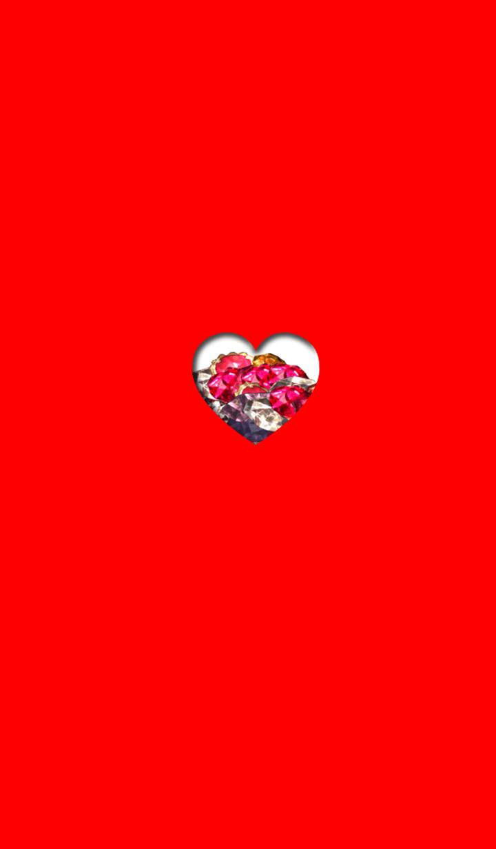 ธีมไลน์ Lucky jewelry red