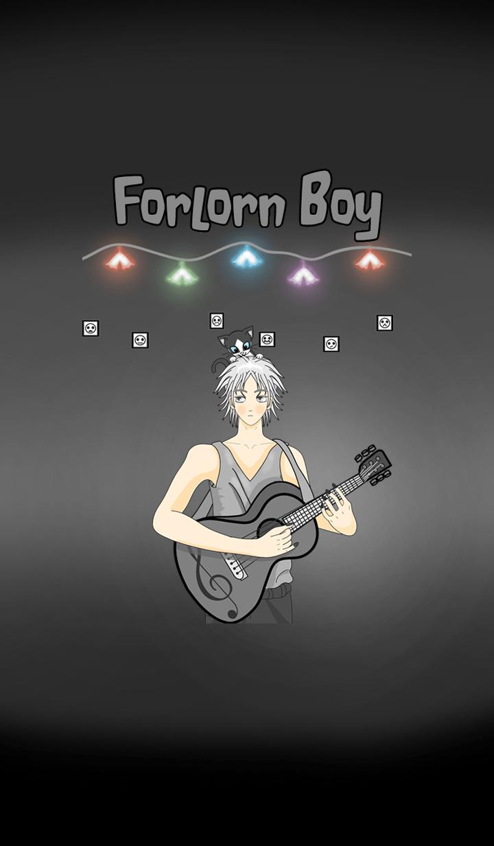 ธีมไลน์ Forlorn Boy