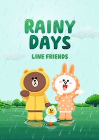 LINE 滴答下雨天