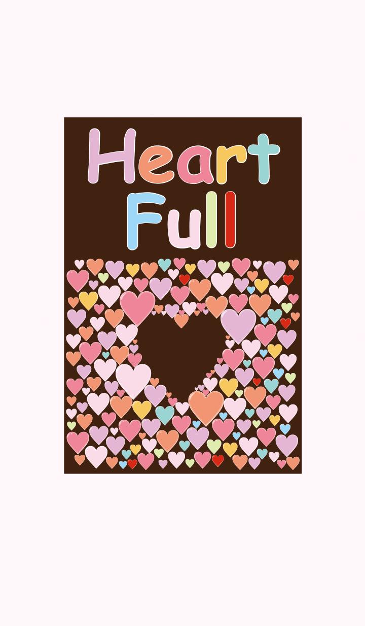 ธีมไลน์ Heart Full