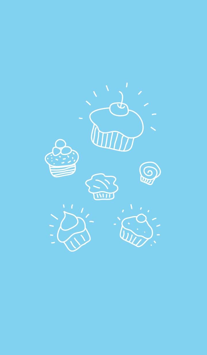 ธีมไลน์ Cute Cupcakes