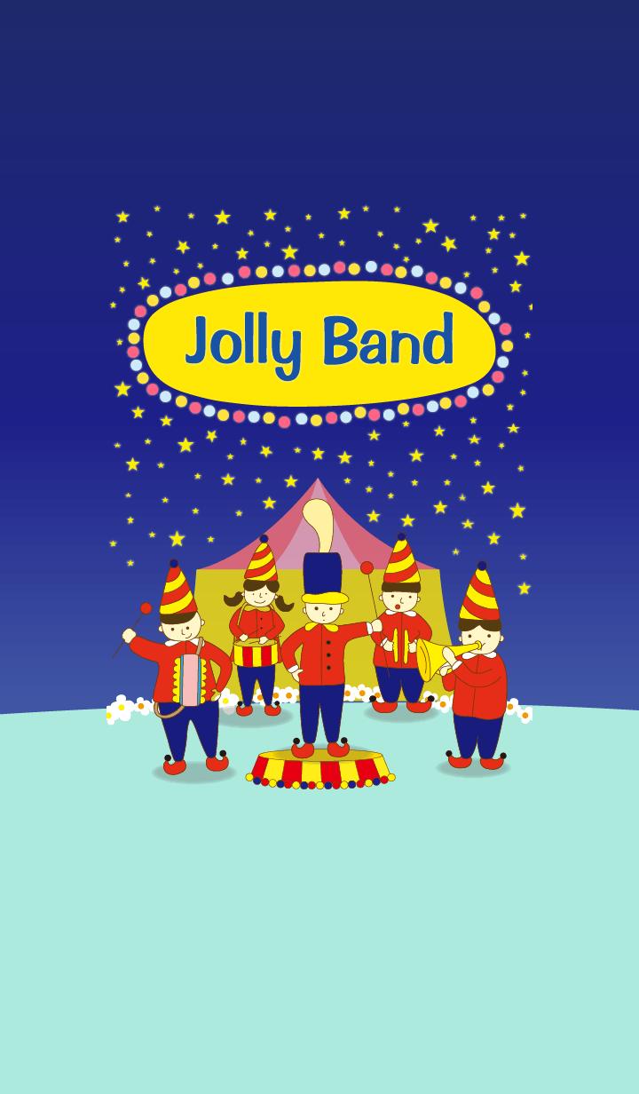 ธีมไลน์ jolly band