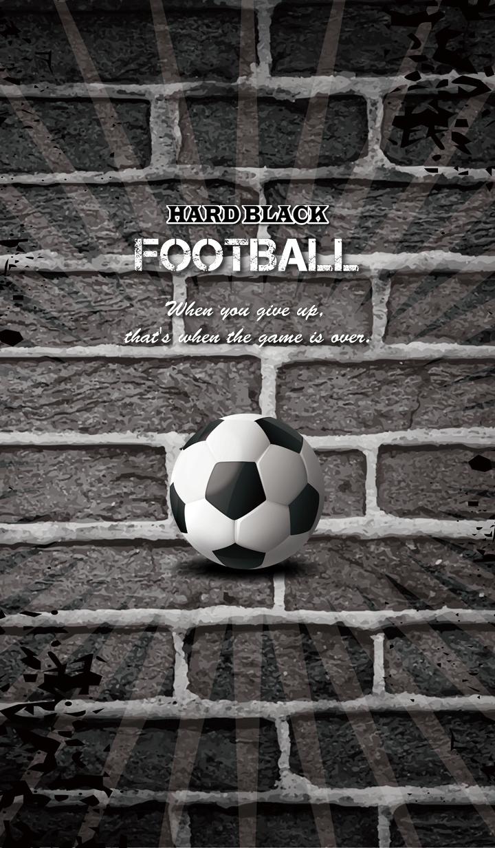ธีมไลน์ -HARD BLACK- FOOTBALL