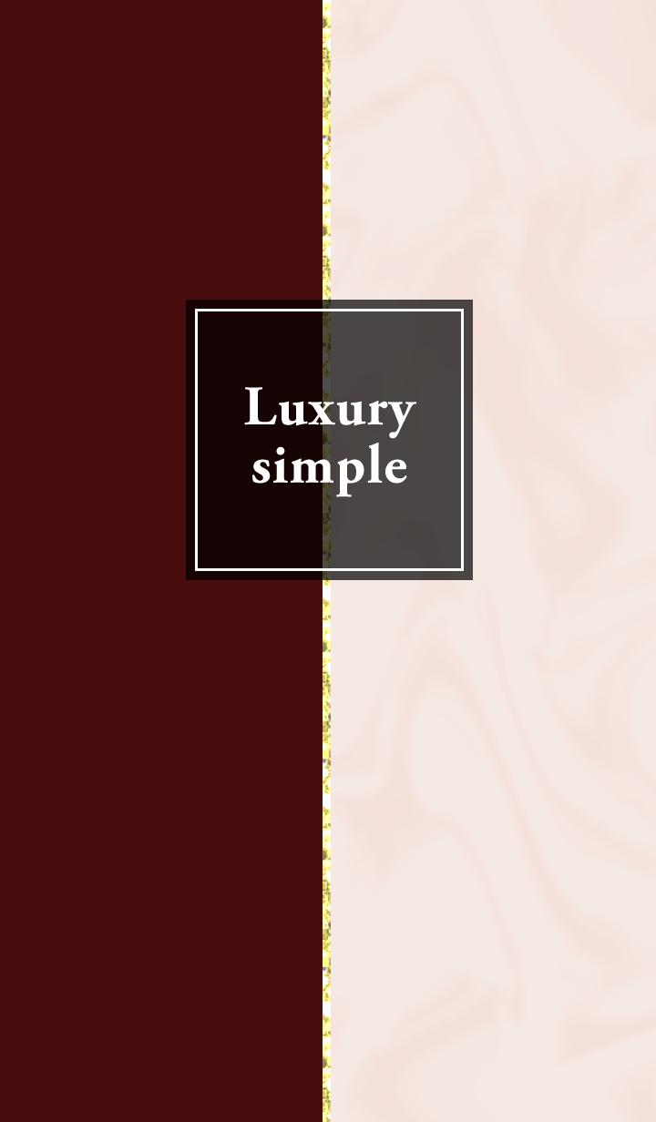 ธีมไลน์ Luxury simple