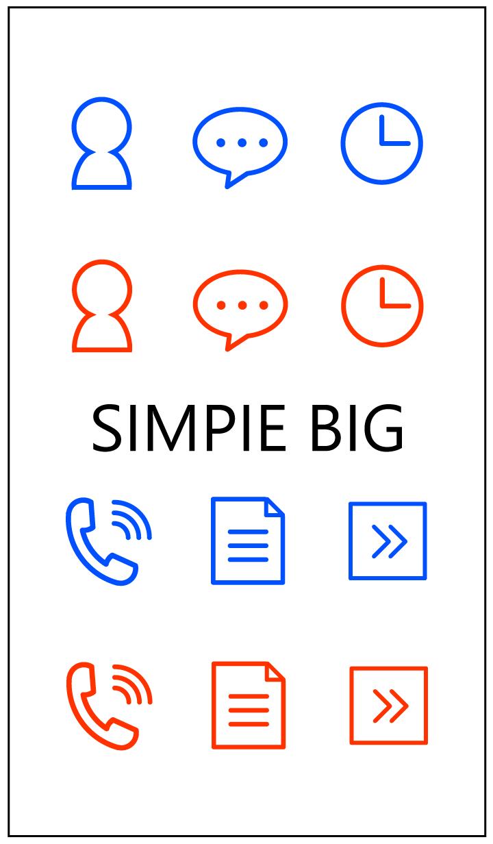 ธีมไลน์ SIMPIE BIG