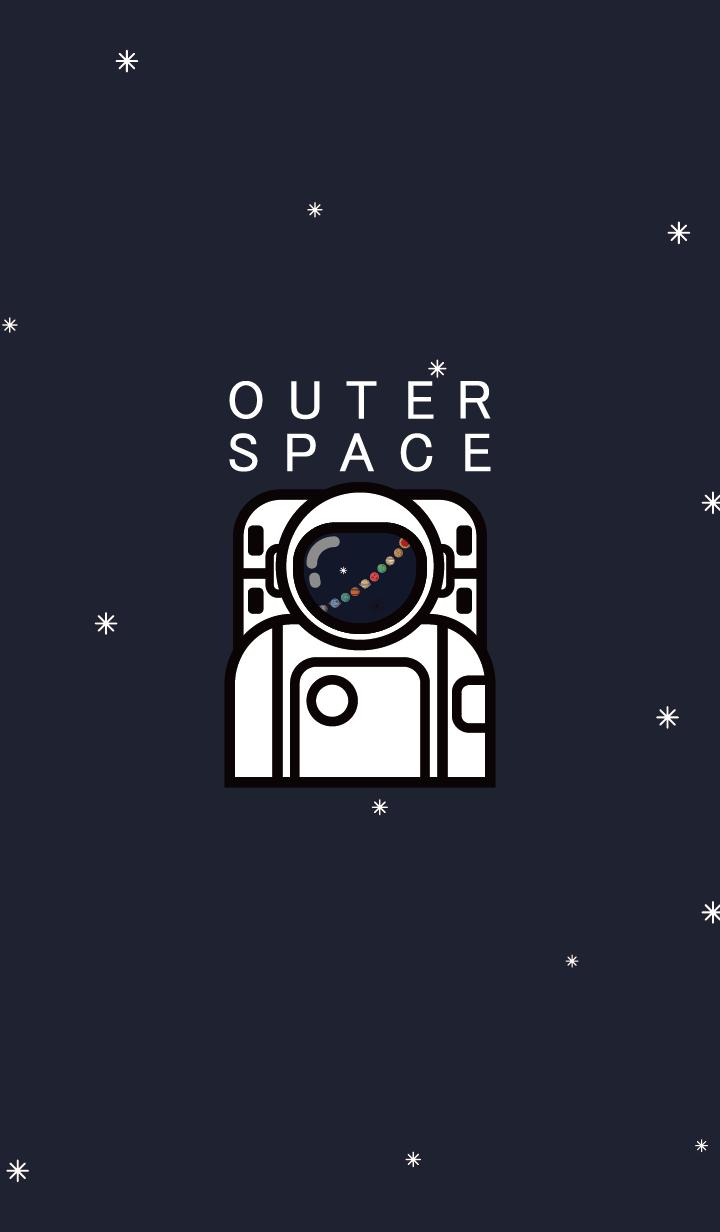 ธีมไลน์ OUTER SPACESSSSS 2.0