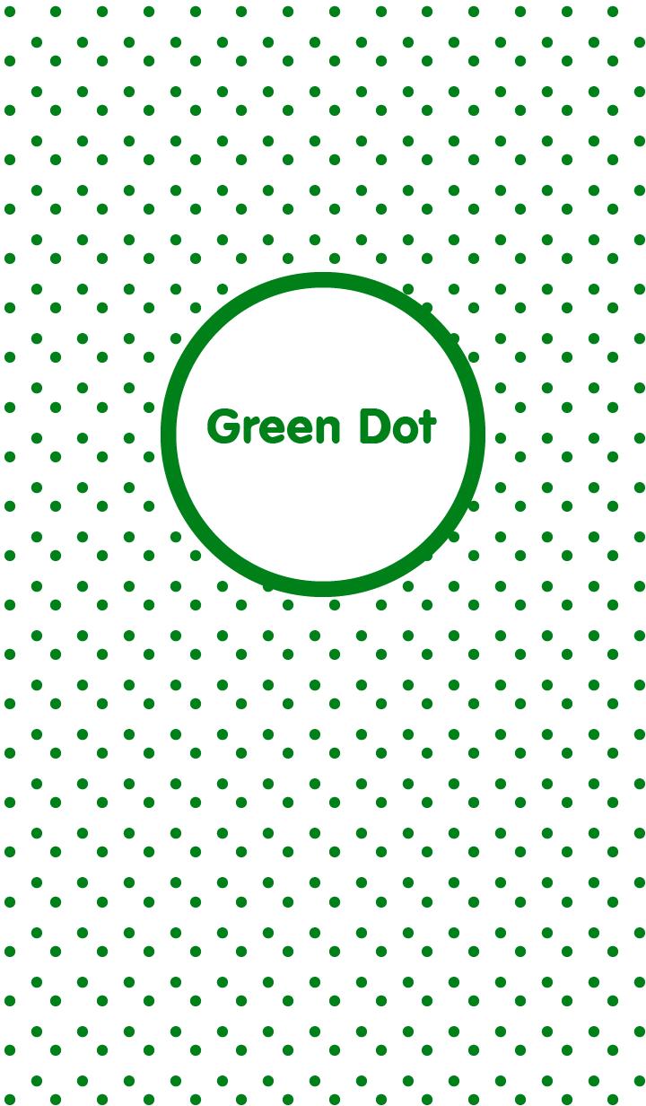 ธีมไลน์ Green Dot theme