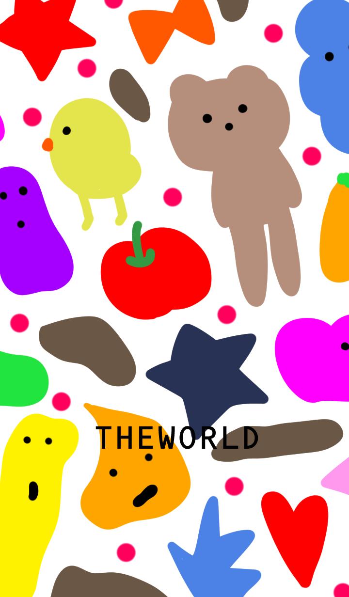 ธีมไลน์ Mysterious world