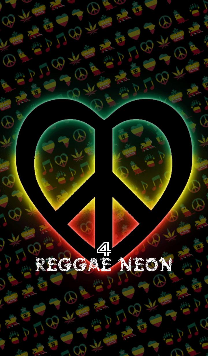 ธีมไลน์ REGGAE NEON4