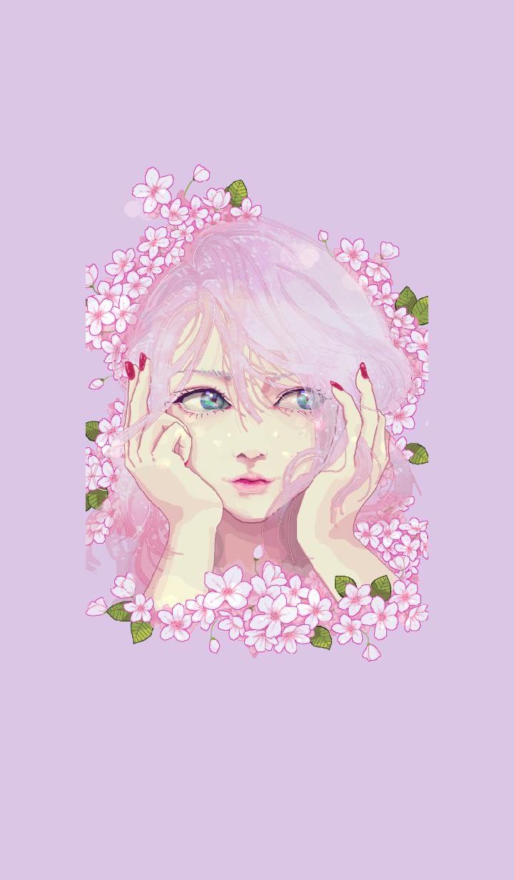 ธีมไลน์ Sakura's memory