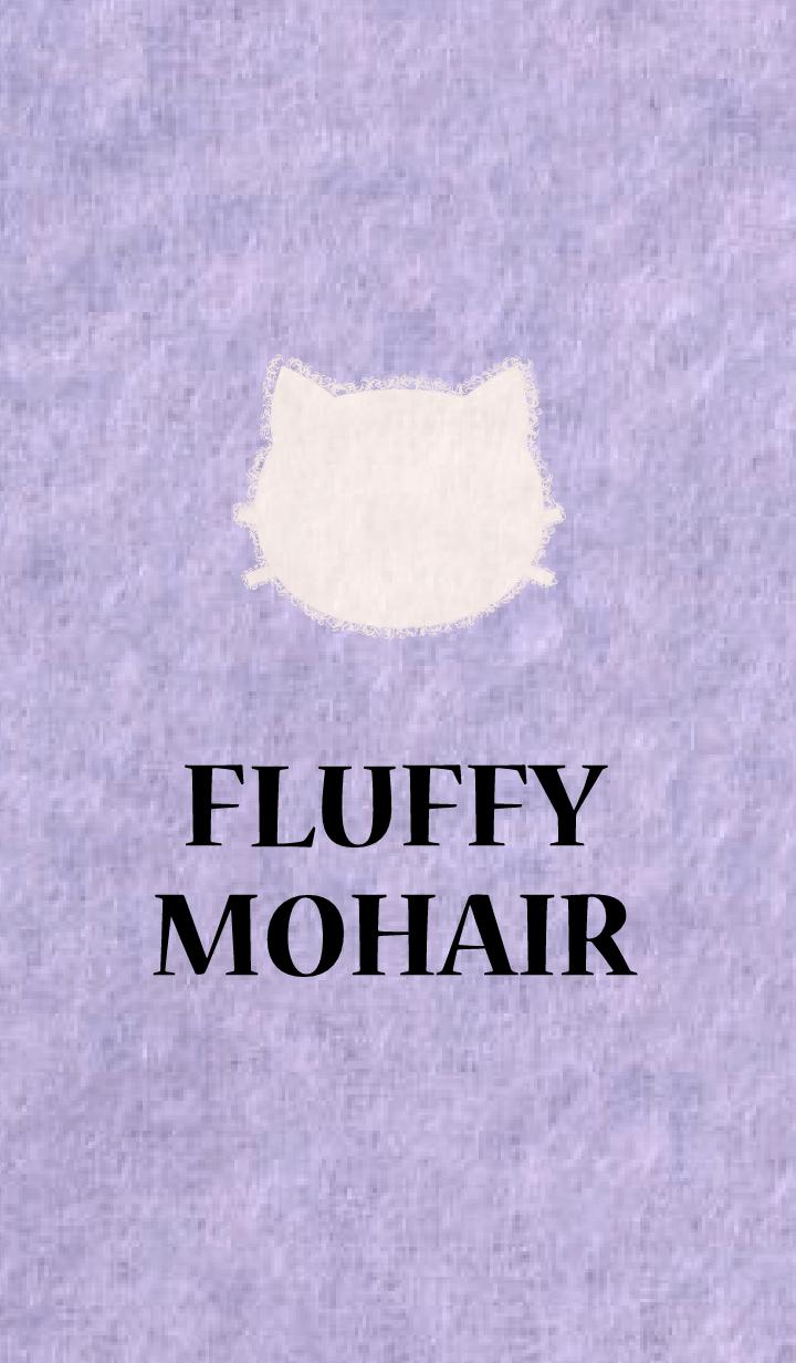 ธีมไลน์ FLUFFY MOHAIR - purple-