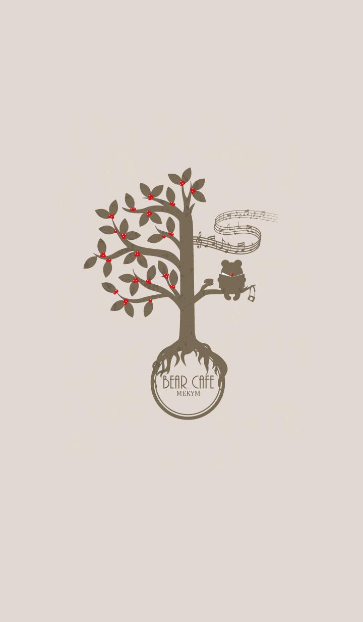 ธีมไลน์ BEAR CAFE.