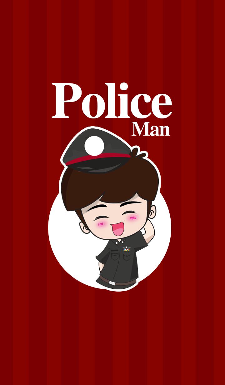 ธีมไลน์ นายตำรวจ