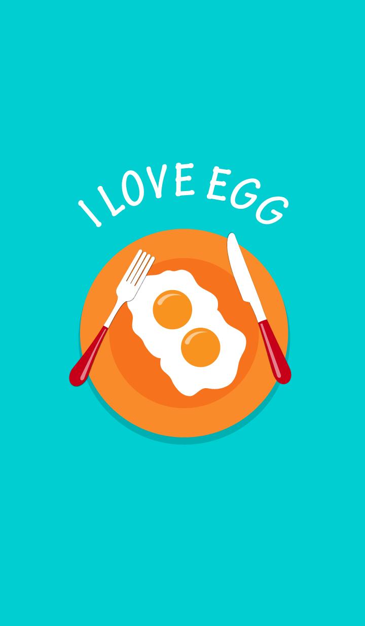 ธีมไลน์ ฉันรักไข่