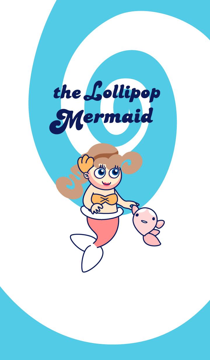 ธีมไลน์ The Lollipop Mermaid