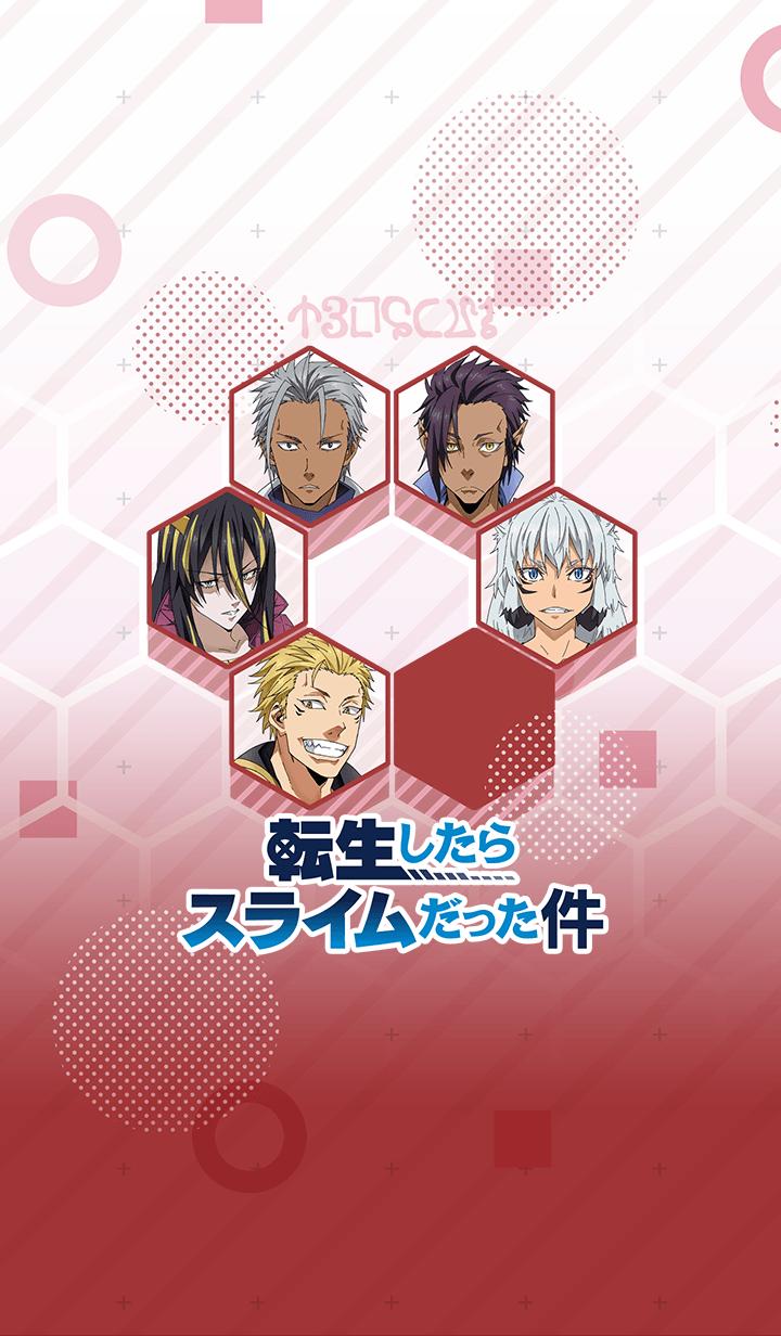 """ธีมไลน์ Theme of """"Tensura Characters ver.4"""""""