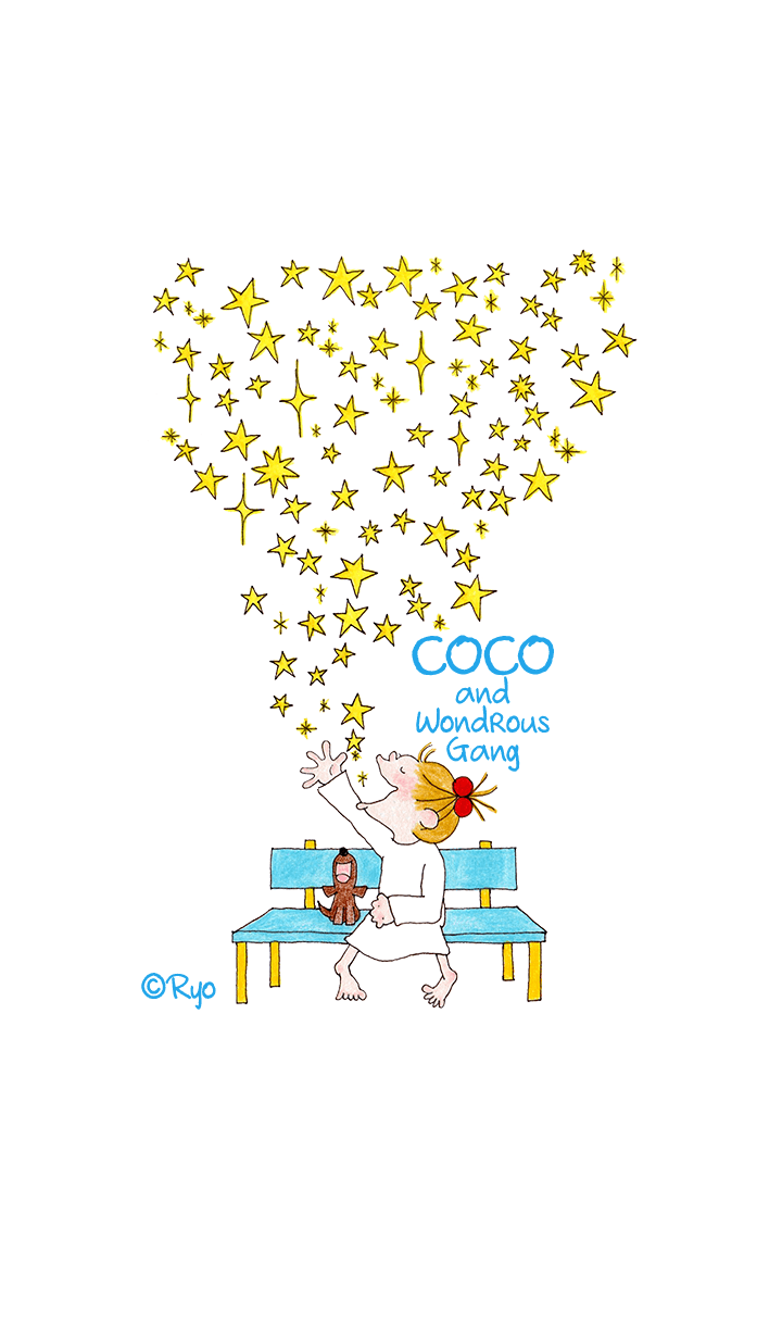 ธีมไลน์ COCO and Wondrous Gang 4