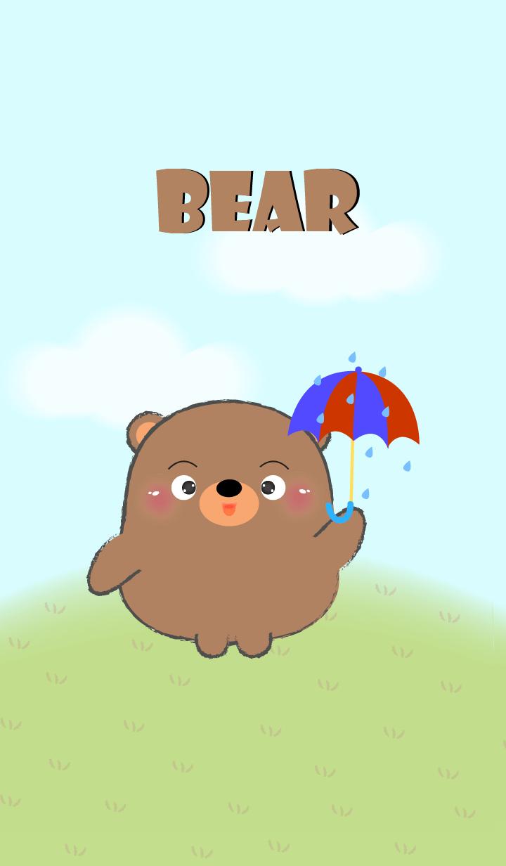 ธีมไลน์ หมีอ้วนน่ารักเนอะ2