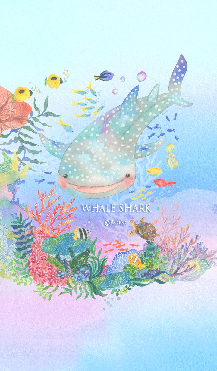 ธีมไลน์ the whale shark