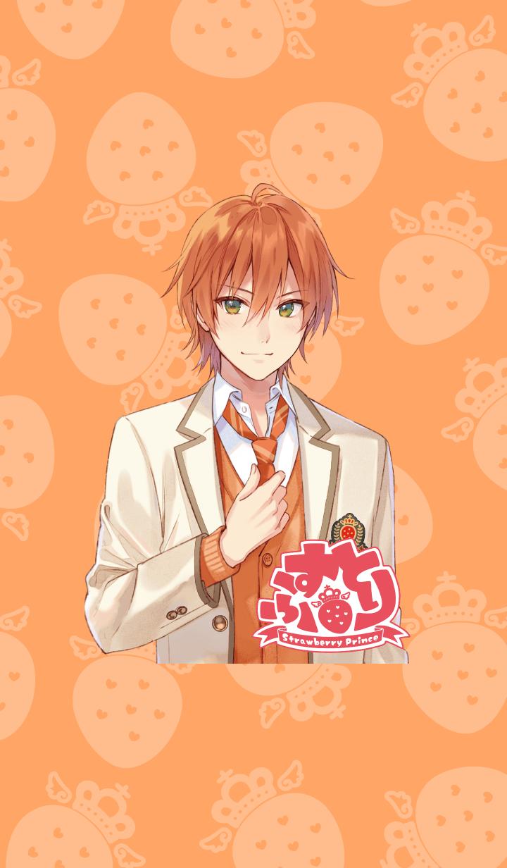 ธีมไลน์ Strawberry Prince(Jel)