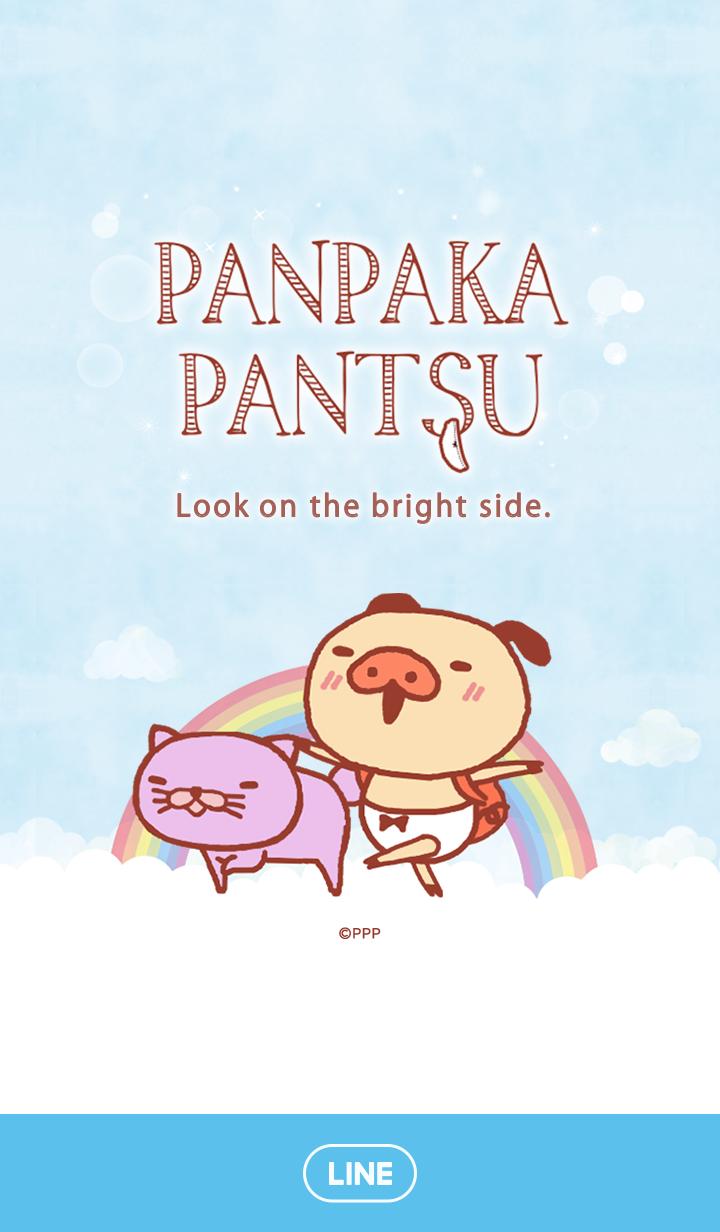 ธีมไลน์ PANPAKA PANTS Sunny Days
