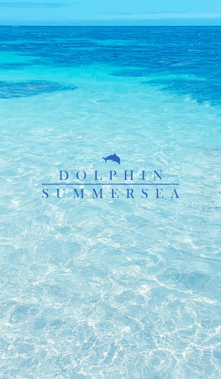 ธีมไลน์ SUMMER SEA HAWAII 7 -BLUE DOLPHIN-