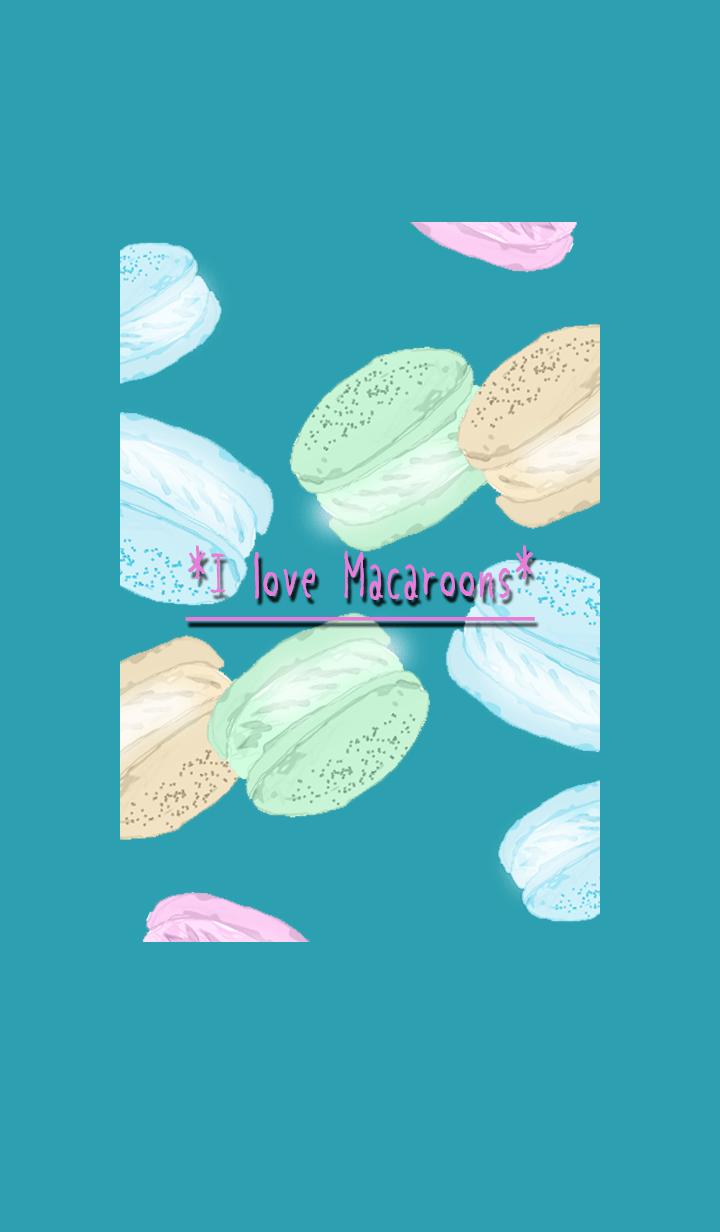 ธีมไลน์ Macaroons 01