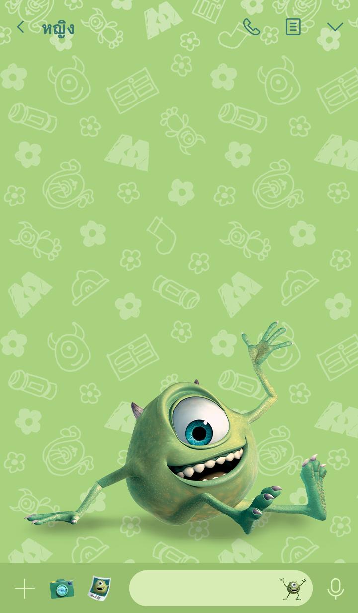 ธีมไลน์ Monsters, Inc. (ไมค์)