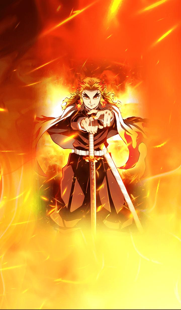 ธีมไลน์ Demon Slayer(MOVIE)(Kyojuro ver.)