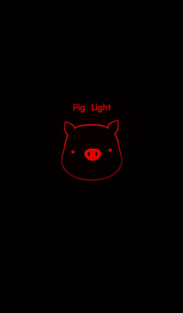 ธีมไลน์ หมูเรืองแสง