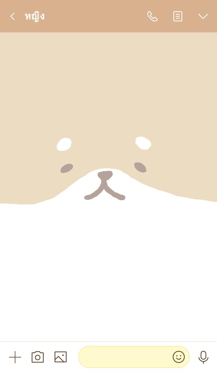 ธีมไลน์ Dog face/Shiba inu