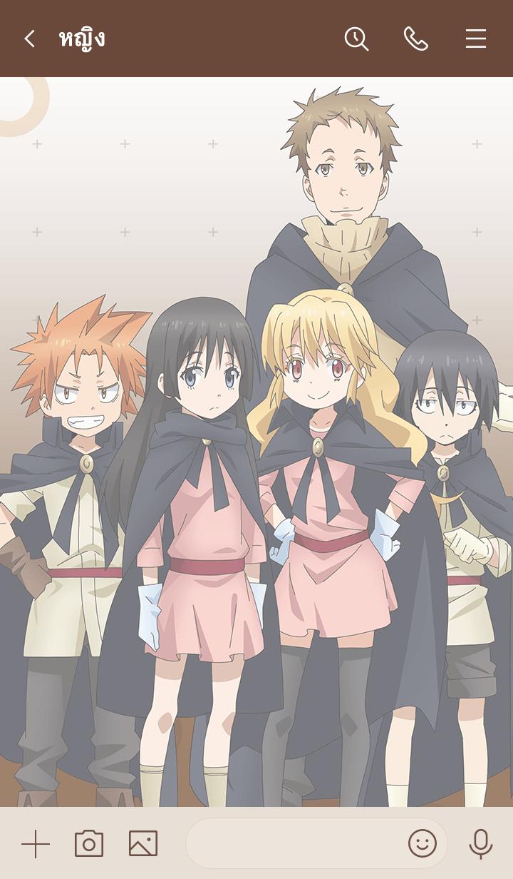 """ธีมไลน์ Theme of """"Tensura Characters ver.3"""""""