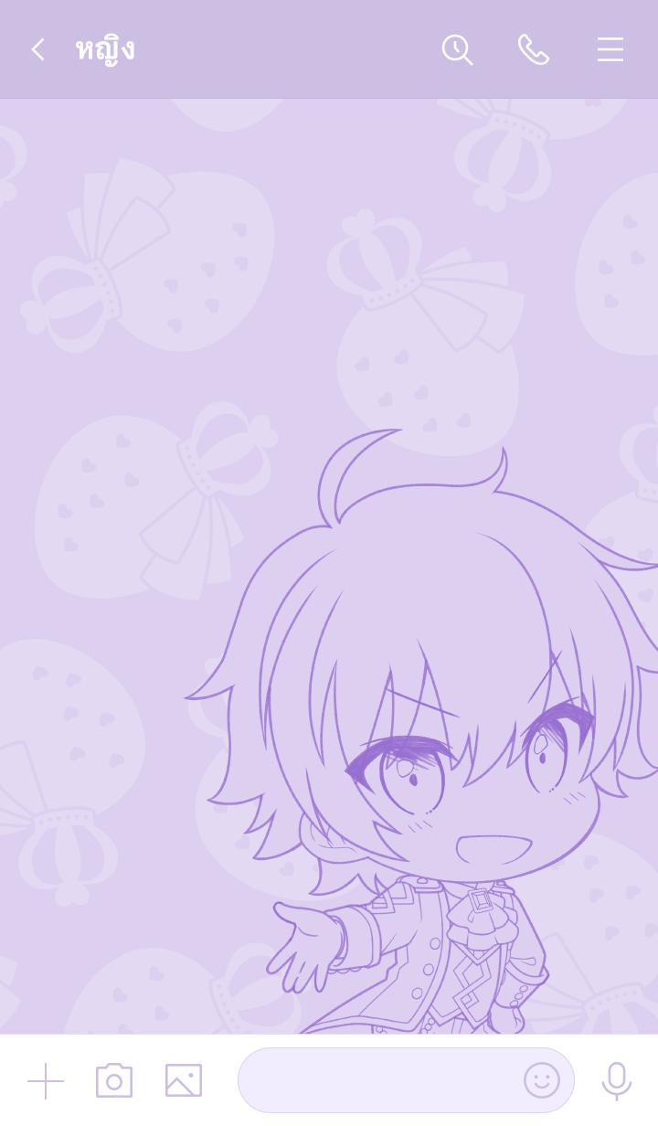 ธีมไลน์ Strawberry Prince(Nanamori) vol.2