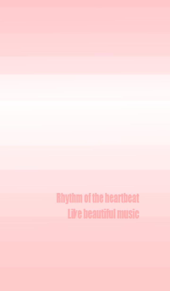 ธีมไลน์ Gradation style (heartbeat ver.)
