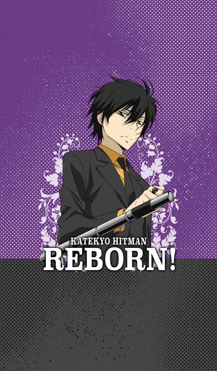 ธีมไลน์ KATEKYO HITMAN REBORN!(HIBARI)