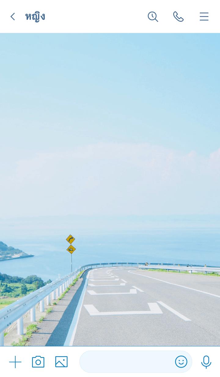 ธีมไลน์ Beautiful View : Setouchi
