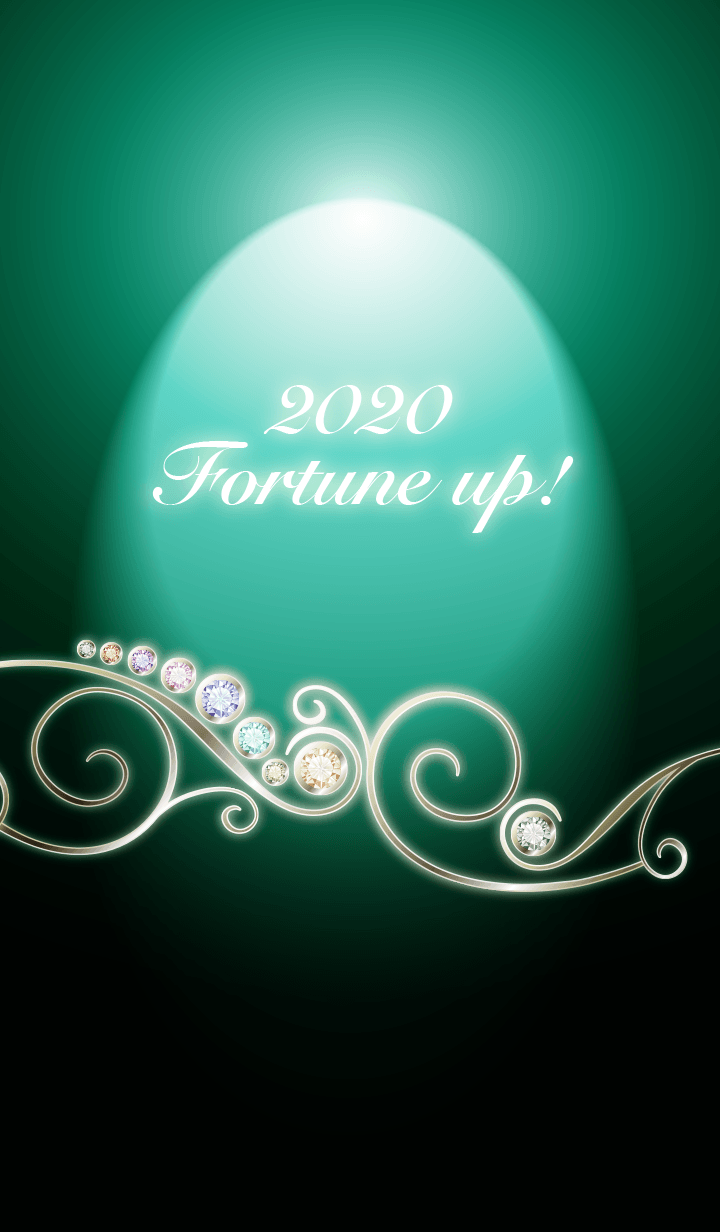 ธีมไลน์ #2020 Fortune up! Green